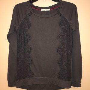 Women's Rewind top. Dark Charcoal color. Sz. S